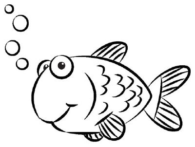 400x302 7 Best How To Draw A Goldfish Images On Drawings