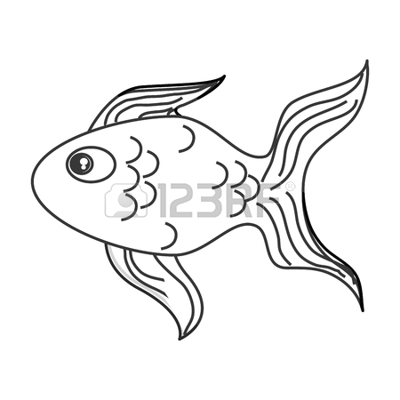 450x450 969 Japanese Goldfish Stock Illustrations, Cliparts And Royalty