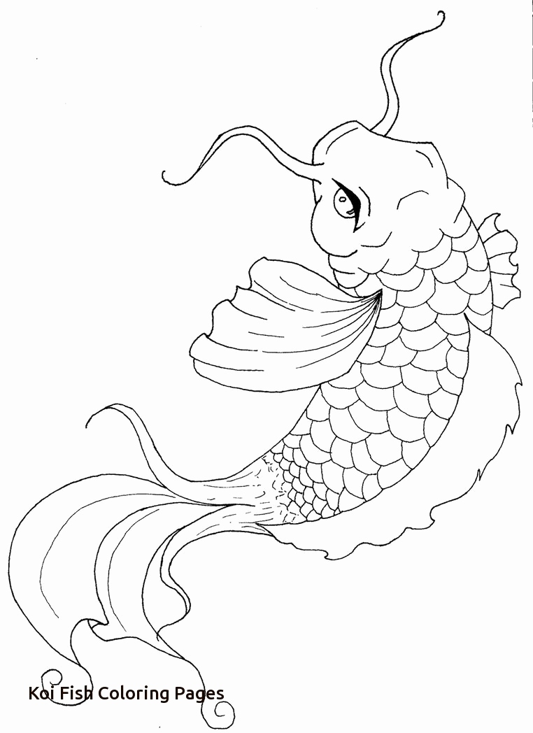 762x1048 50 Elegant Photos Of Koi Fish Coloring Pages
