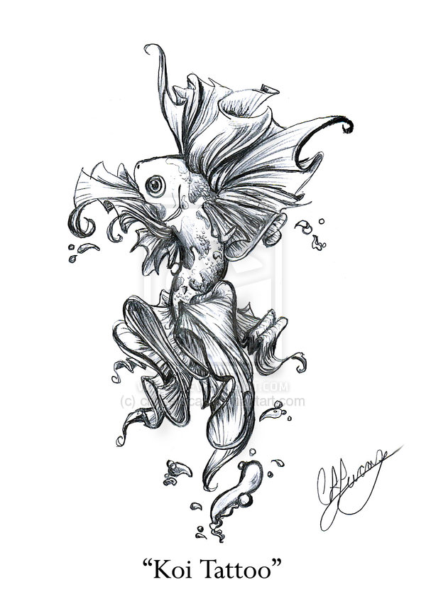 600x833 Designs Japanese Koi Fish Tattoo Guide The Ultimate Tattoo Guide