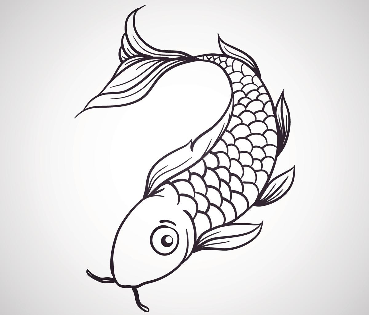 1200x1027 Koi Tattoo Meaning