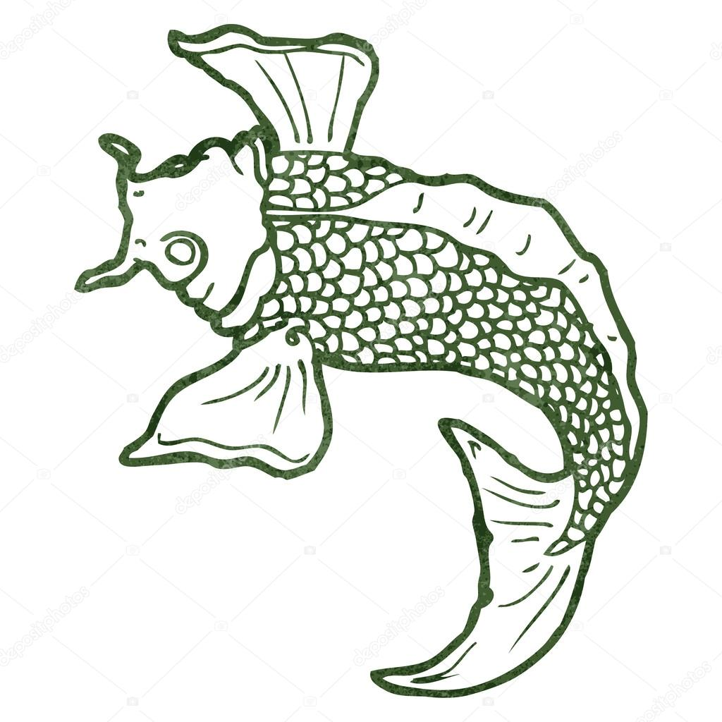 Japanese Koi Fish Drawing at GetDrawings.com | Free for personal use ...