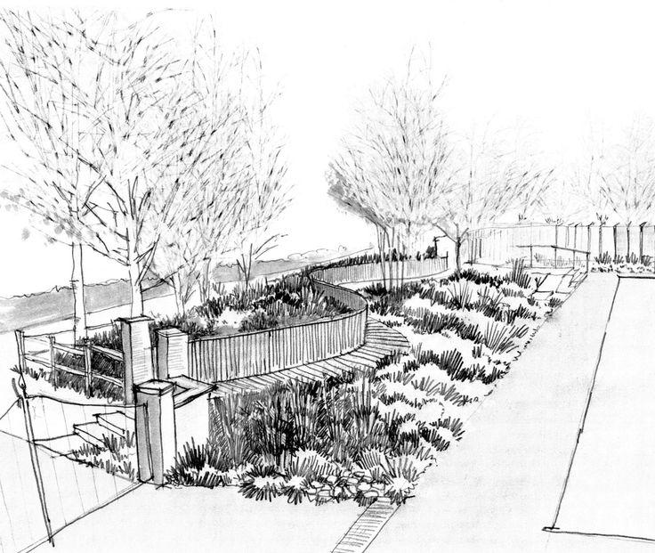 736x621 87 Best Garden Illustrationsketches Images