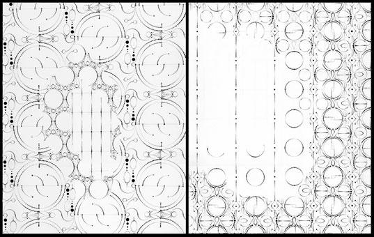 537x340 Levent Amp Romme's Elegant Laser Cut Paper Lamps Inhabitat