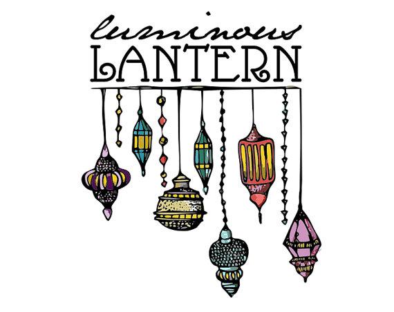 570x452 Moroccan Lantern Drawing