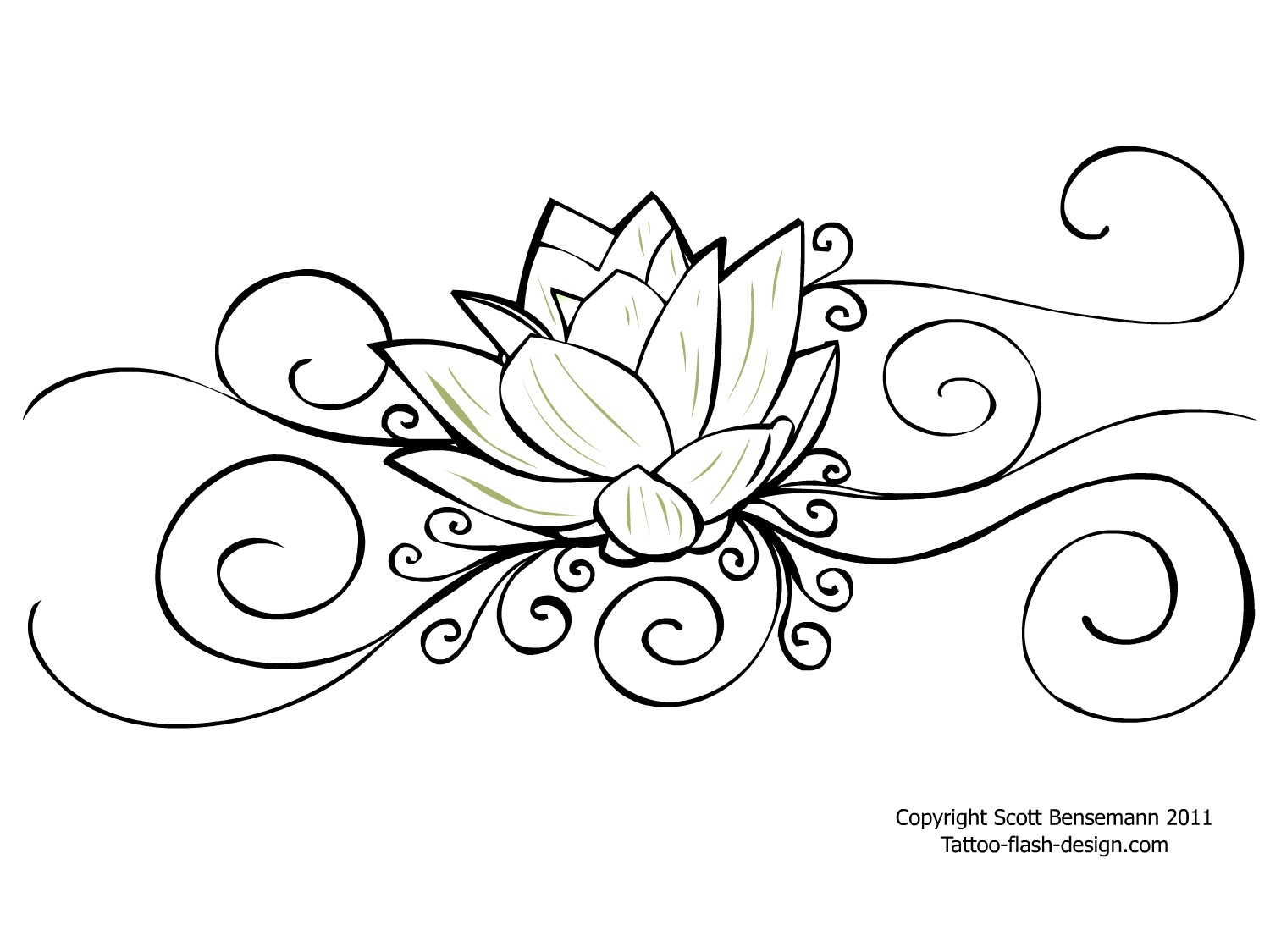 1500x1125 Lotus Outline Tattoo Graphic In 2017 Real Photo, Pictures, Images