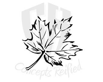 340x270 Maple Leaf Art Etsy