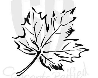 340x270 Maple Leaf Painting Etsy