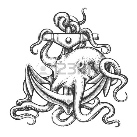 450x450 Octopus Art Stock Photos. Royalty Free Business Images