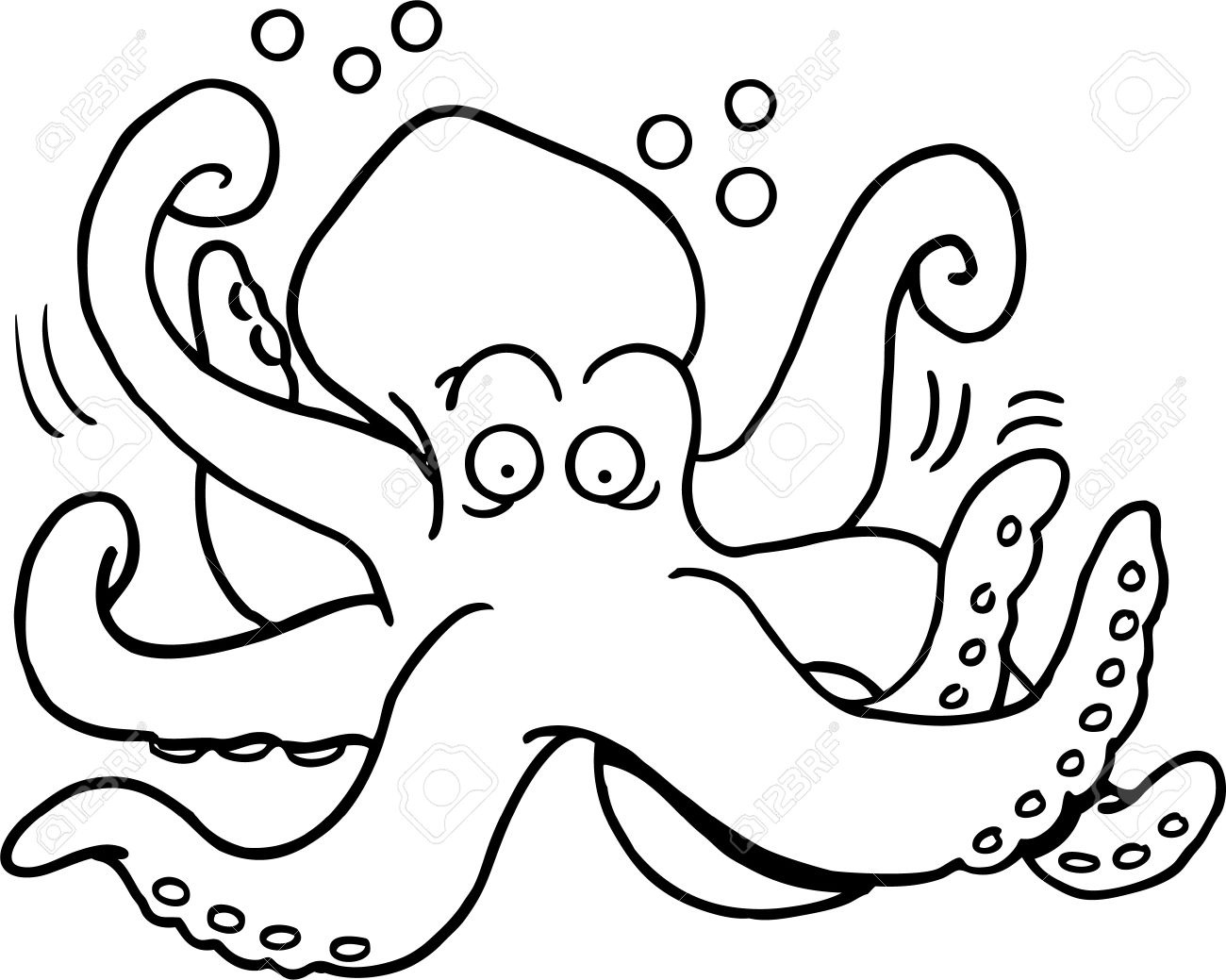 Japanese Octopus Drawing At Getdrawings Com Free For Personal Use