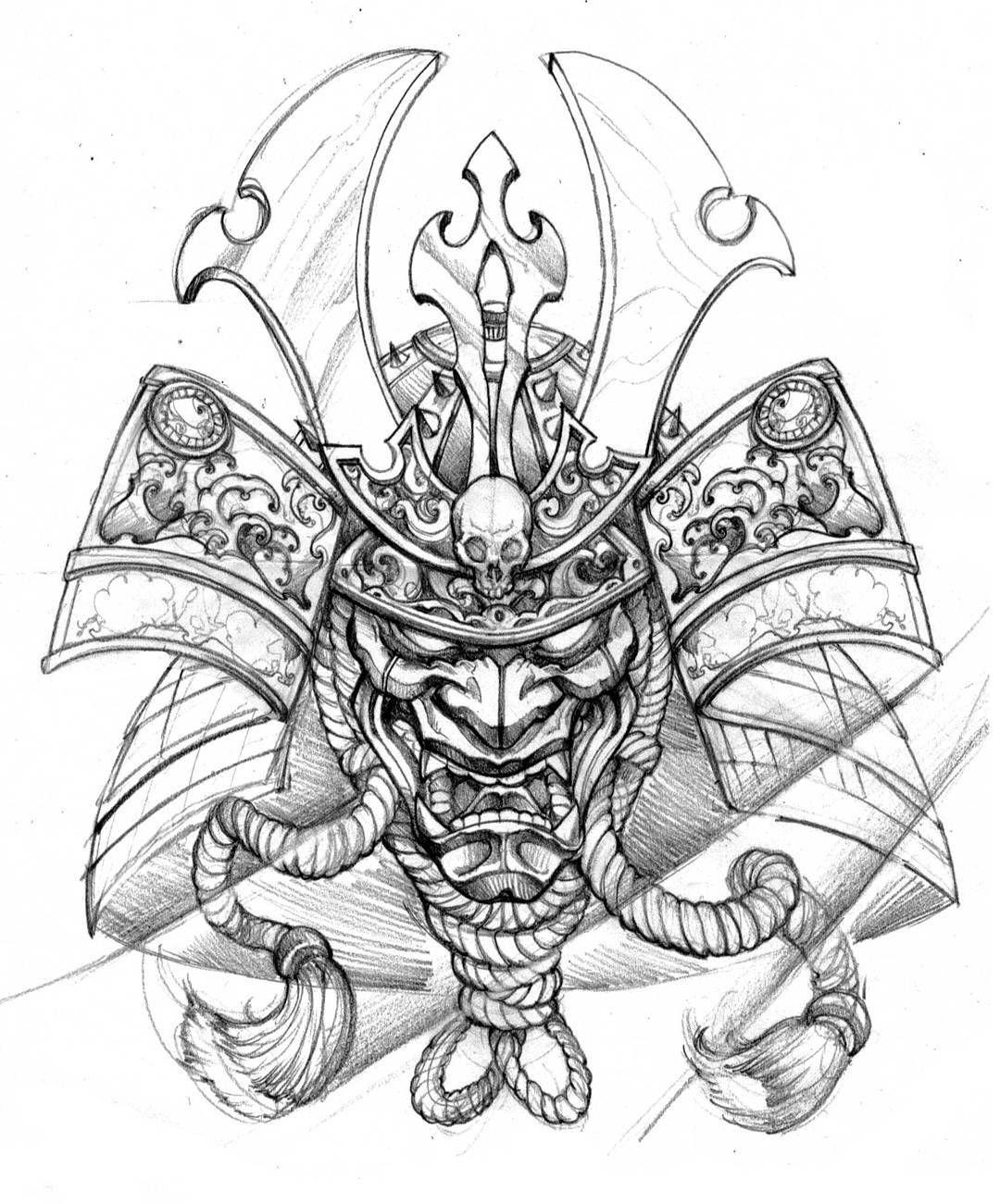 1080x1301 Matching Tattoo With Gaby Art3 Irezumi, Samurai