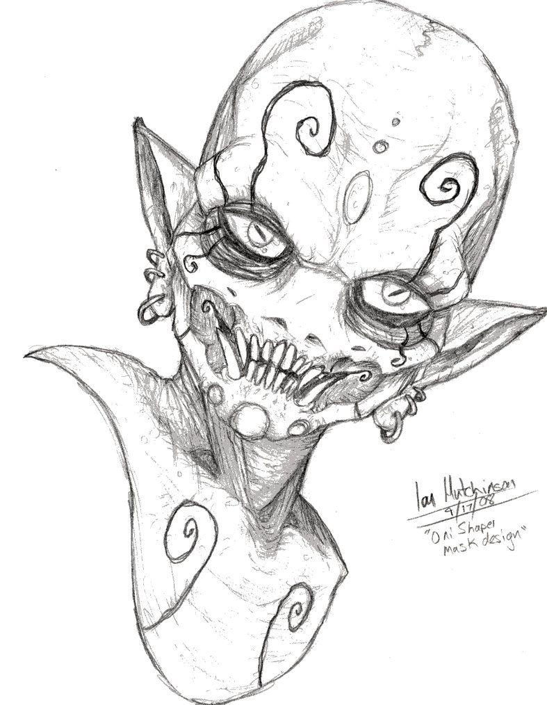 787x1014 Oni Mask