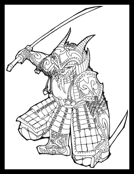 430x556 Samurai Armor By Sassinak