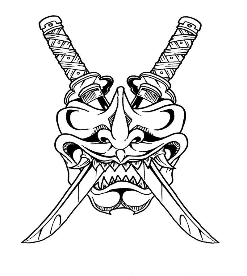 800x896 Samurai Mask By Raikoh101