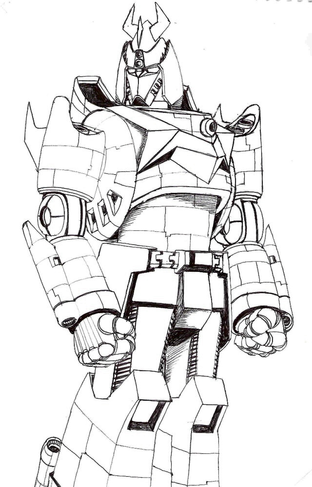 640x1000 Samurai Voltes By Lonelyboy By Robot Japan