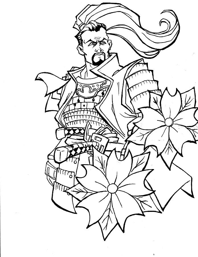 695x900 Sorveign Samurai By Kcool