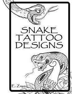 232x300 Snake Tattoo Flash Japanese Style Art Sketch Book Ebay