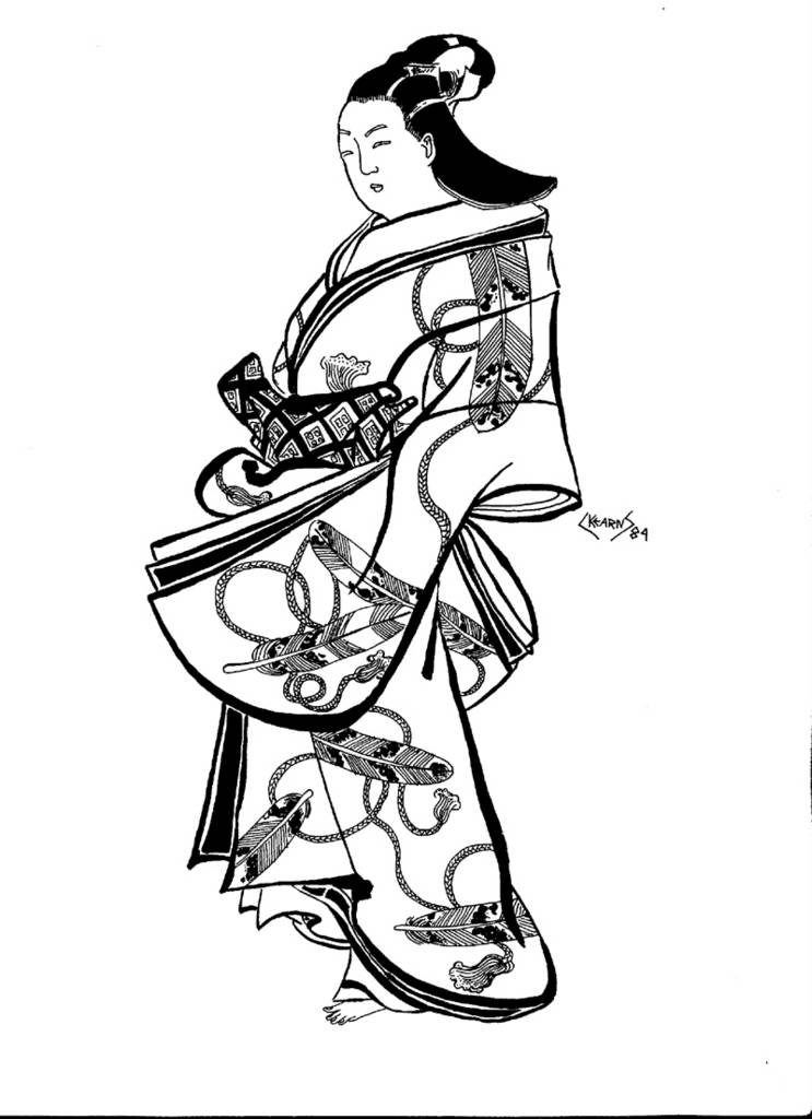 743x1024 Unfettered More Japanese Style Art