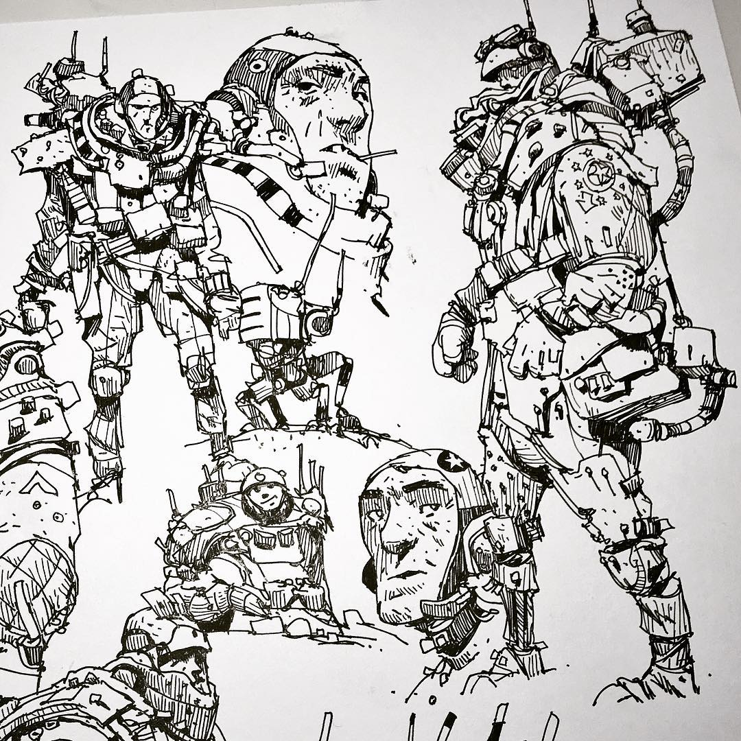 1080x1080 Usual Space Dude Type Suspects Ian Mcque Character