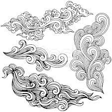225x225 A Set Of Cloud Graphics In Oriental Style. Google Images, Cloud