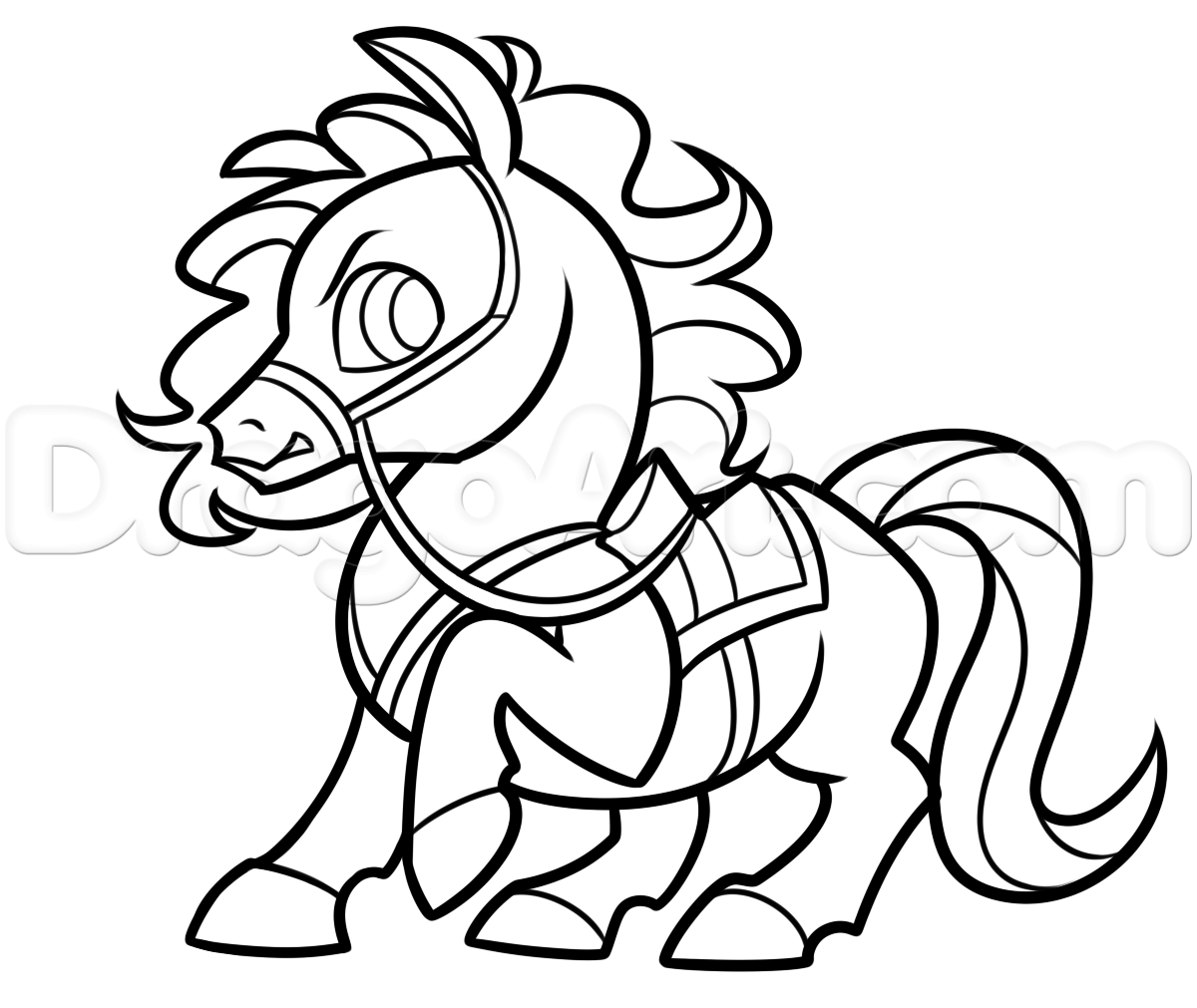 1200x1011 Draw Maximus From Tangled Chibi Style, Step By Step, Chibis, Draw