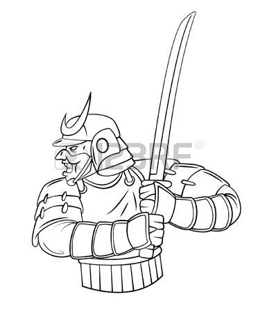 372x450 Japanese Warrior