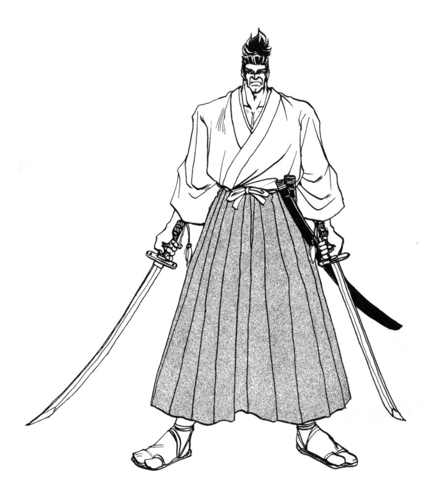 900x1024 Jubei Yagyu (Samurai Shodown)