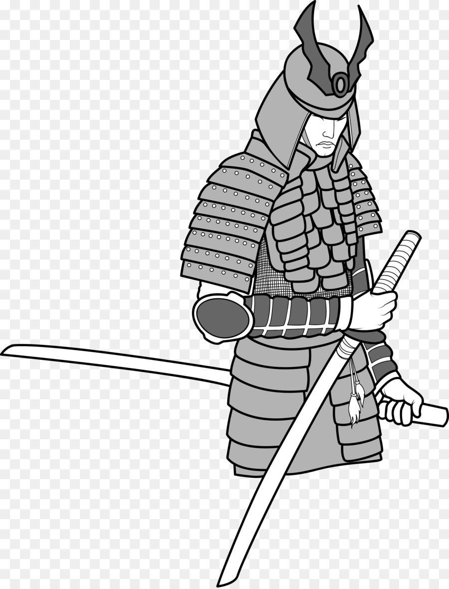 900x1180 Warrior Samurai Royalty Free Illustration