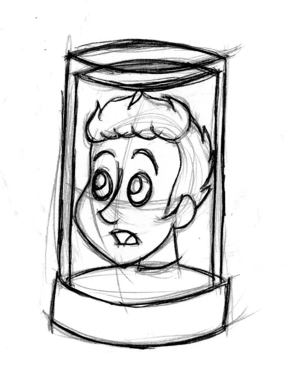 1024x1314 Head Jar Sketch By Gyzmo Grim