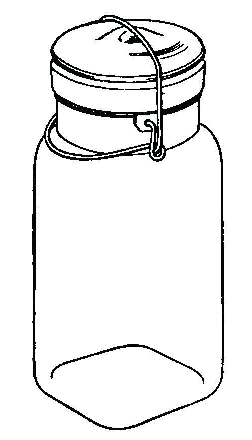 506x881 Free Mason Jar Clipart Mason Jar Clip Art Free Printable Mason Jar