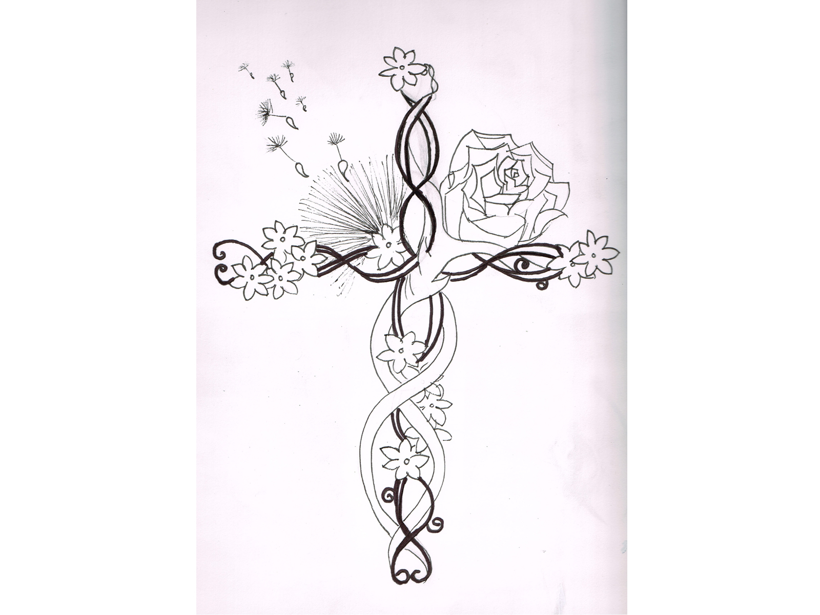 Jasmine Flower Drawing Tattoo at GetDrawings   Free download