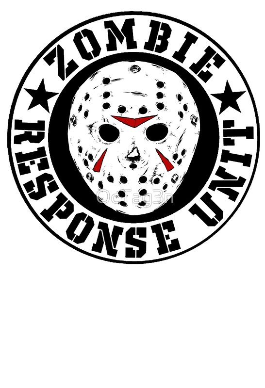 546x800 Jason Hockey Mask Zombie Response Unit Photographic Prints By