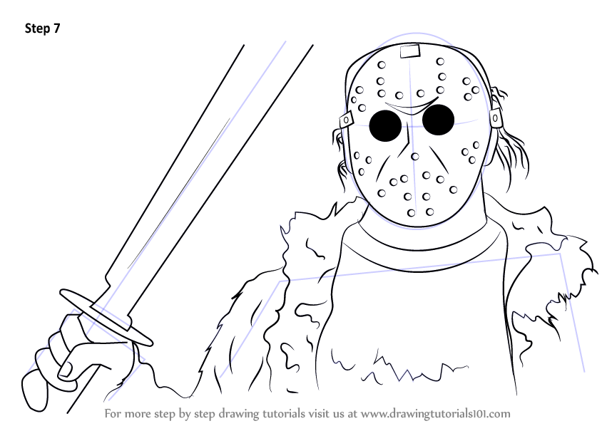 844x598 Learn How To Draw Jason Voorhees From Mortal Kombat X (Mortal