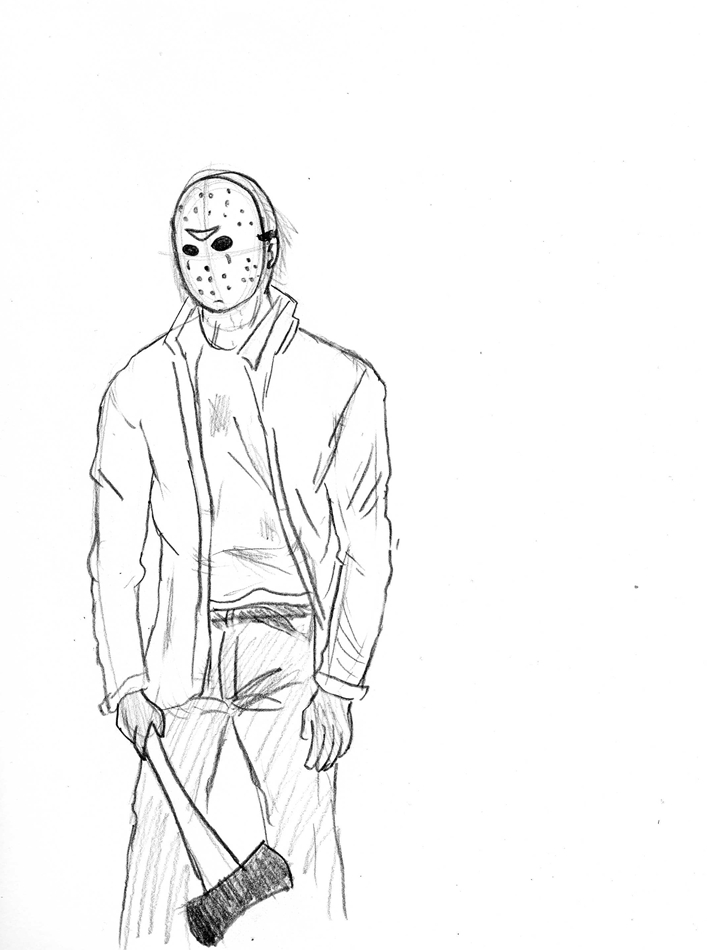707x950 Friday Xiii Jason Voorhees By Donnahyena