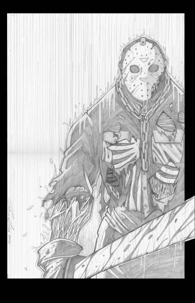387x600 Jason Voorhees Art And Games Horror, Horror Film
