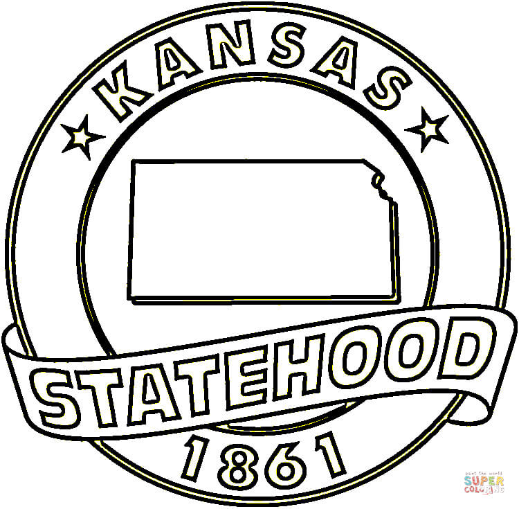750x735 Kansas Coloring Page Free Printable Coloring Pages