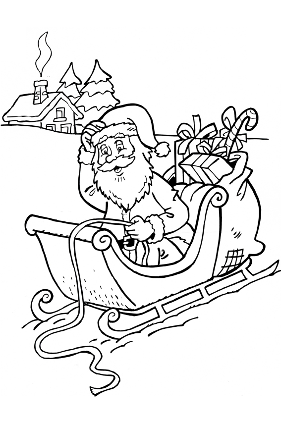 567x850 Christmas Coloring Pages Overview With Nice Coloring Pages