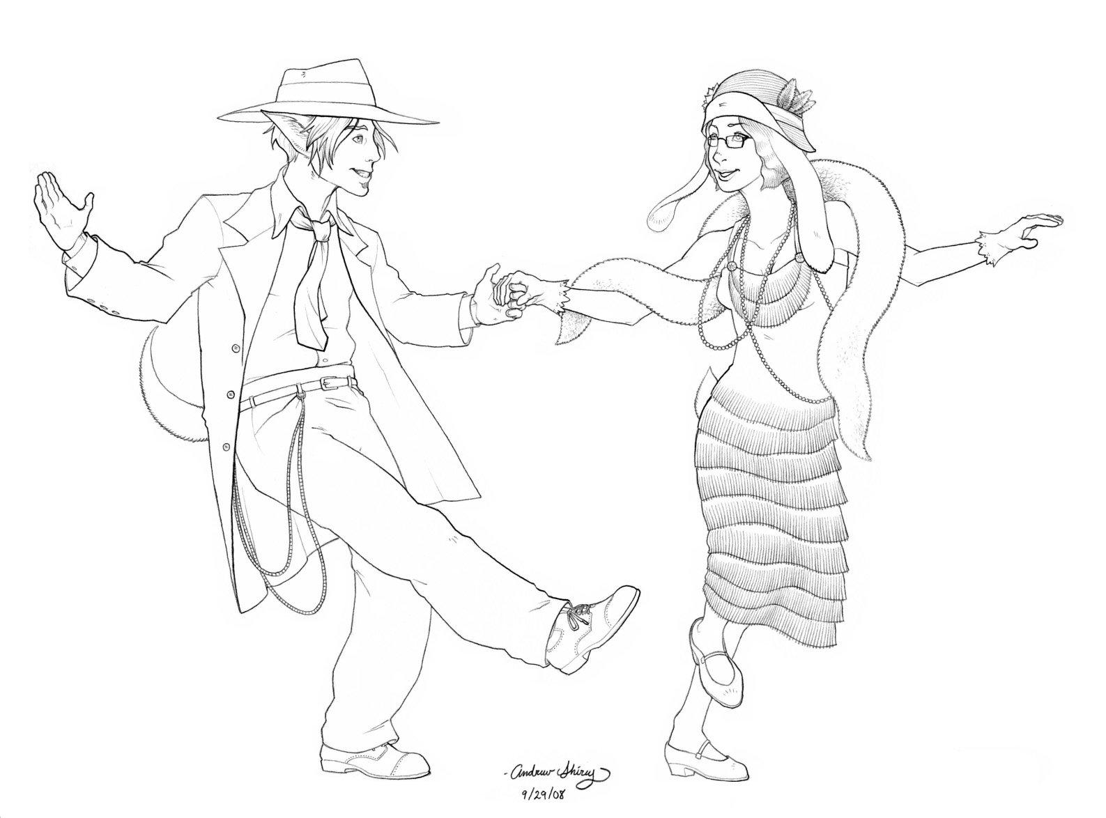 1587x1174 Sd Jazz Dance By Silentsketcher