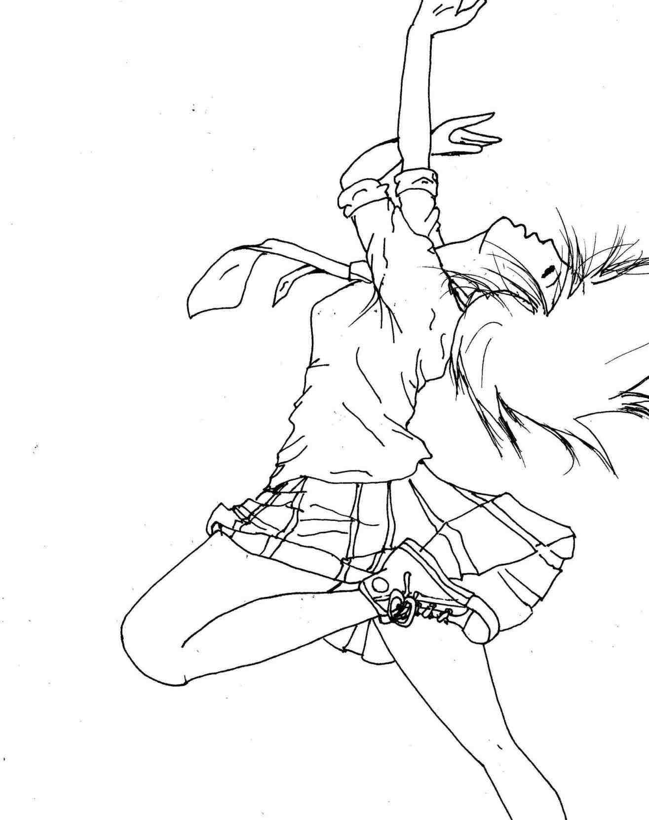 1315x1661 Jazz Dance Drawing