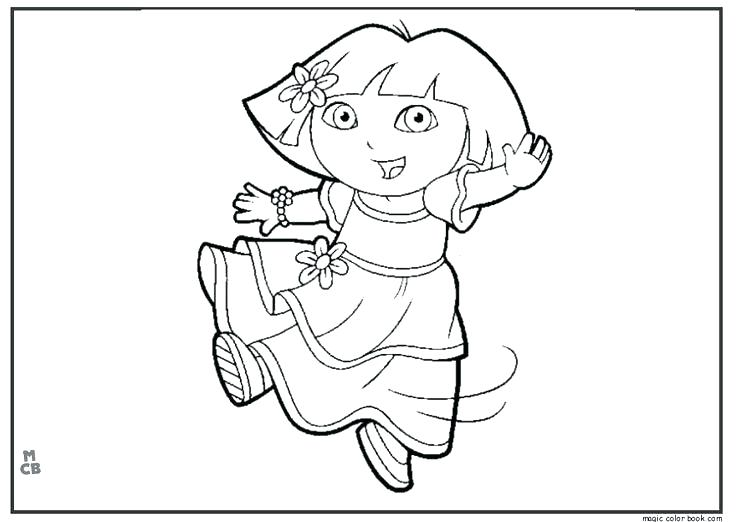 736x522 Dance Coloring Pages 83 In Addition To Dance Coloring Pages Free