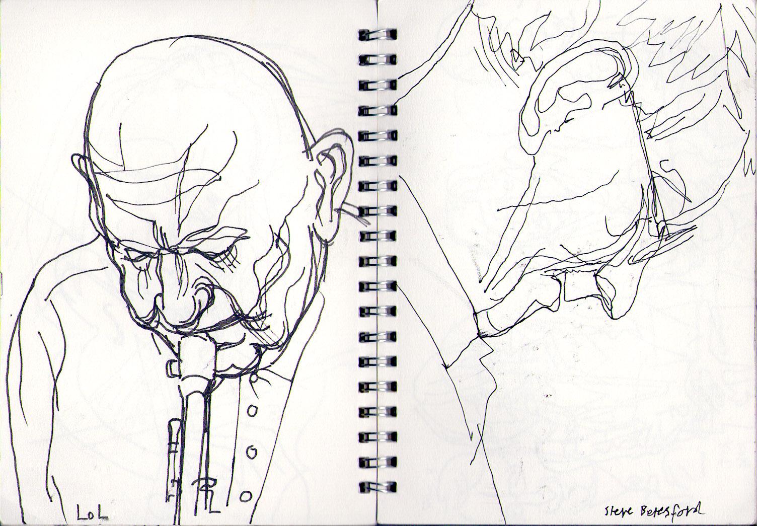 1504x1045 Jazz Drawings Jim Dunkley