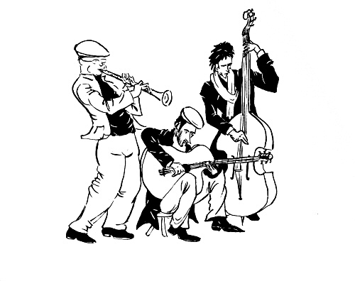 500x396 Jazz Band (A Short Wip) [Archive]