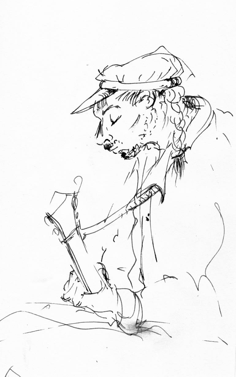 770x1233 Saatchi Art Jazz Musicians 16 Drawing By Karina Plachetka