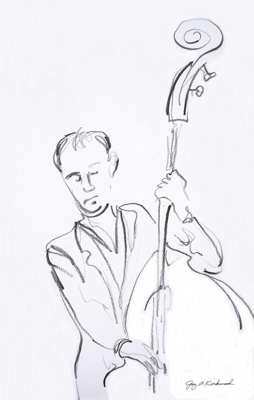 1393x2197 Gospel Jazz Art By Joy A. Kirkwood