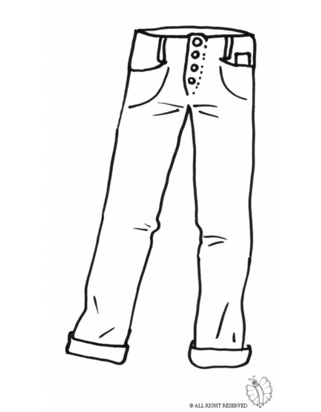 Jeans Drawing at GetDrawings.com | Free for personal use Jeans Drawing of your choice