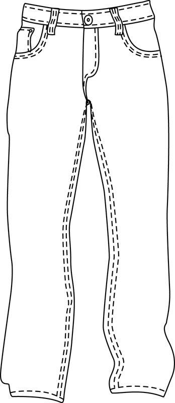 348x800 Dark Denim Jeans