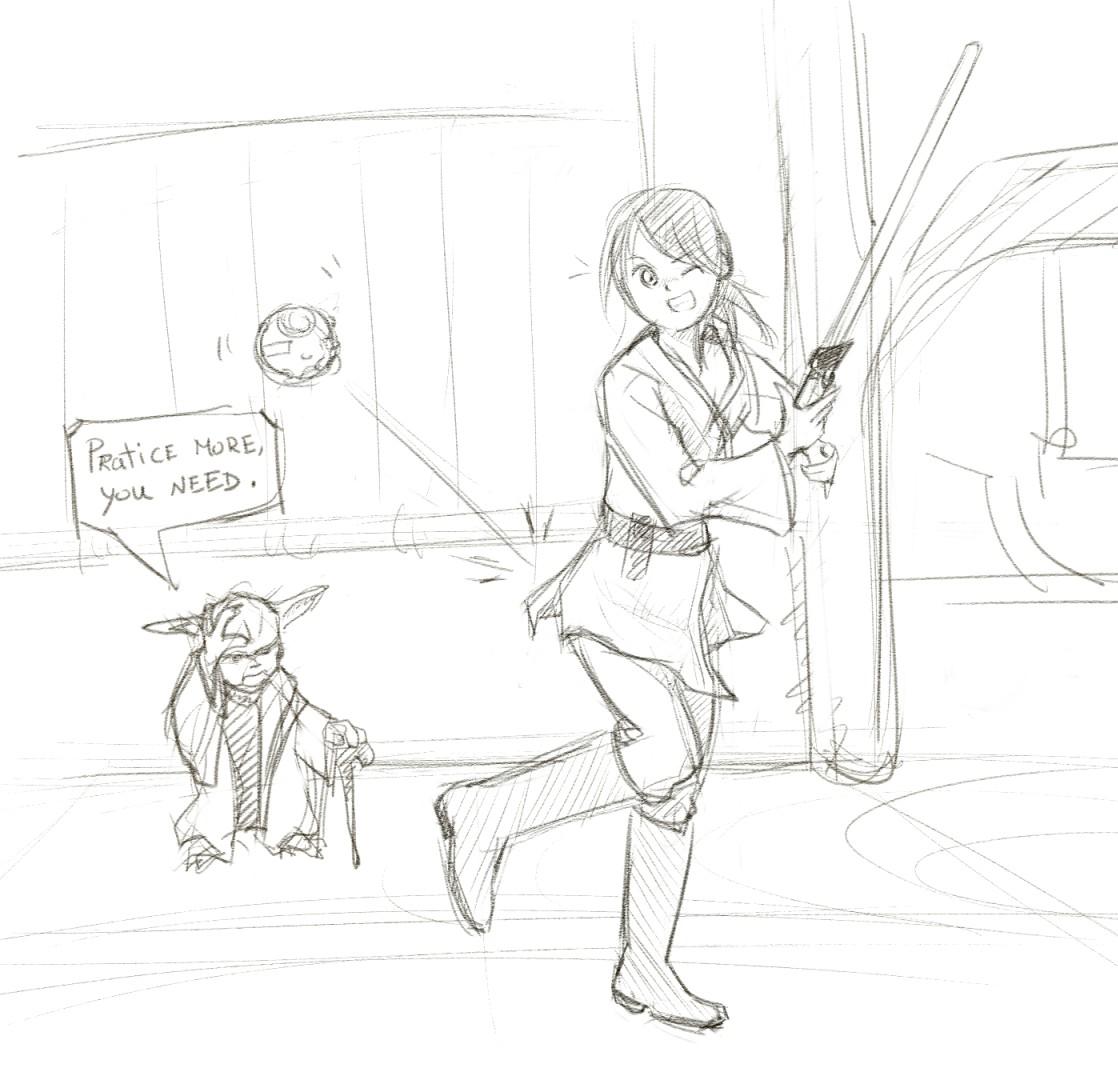 1118x1080 Can Someone Draw Me Into A Real Jedi Redditgetsdrawn