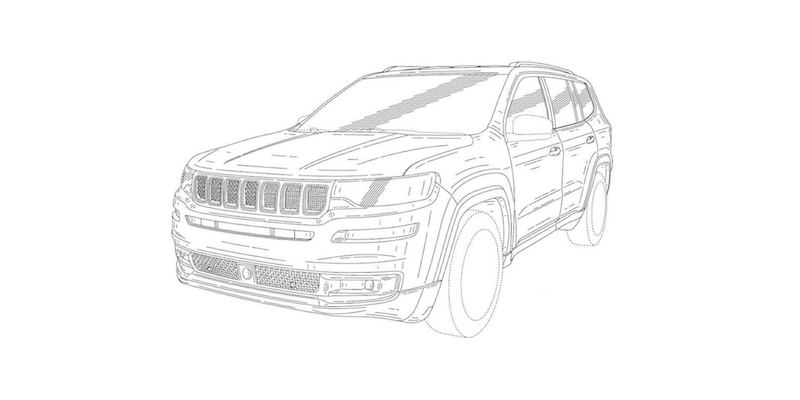 800x400 New Seven Seat Jeep Unveiled In Patent Drawings