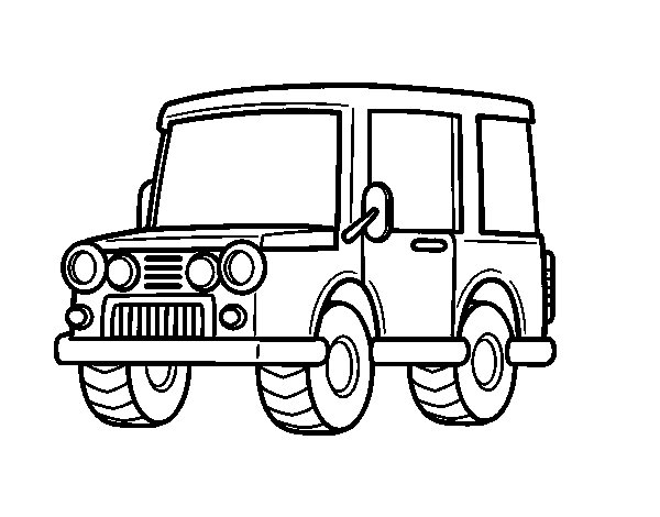 Jeep Line Drawing at GetDrawings.com | Free for personal use Jeep ...