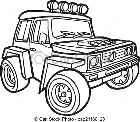 Jeep Wrangler Drawing At Getdrawings Com